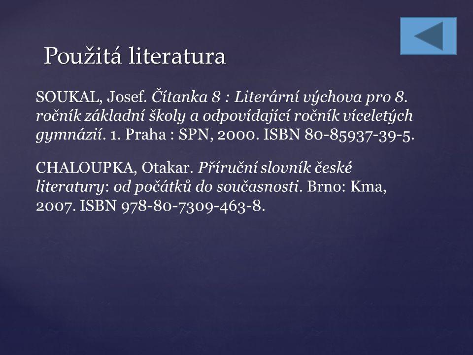 Úkoly k procvičení – ukázka z čítanky Kde Ludvík Souček čerpal předlohu pro své dílo.