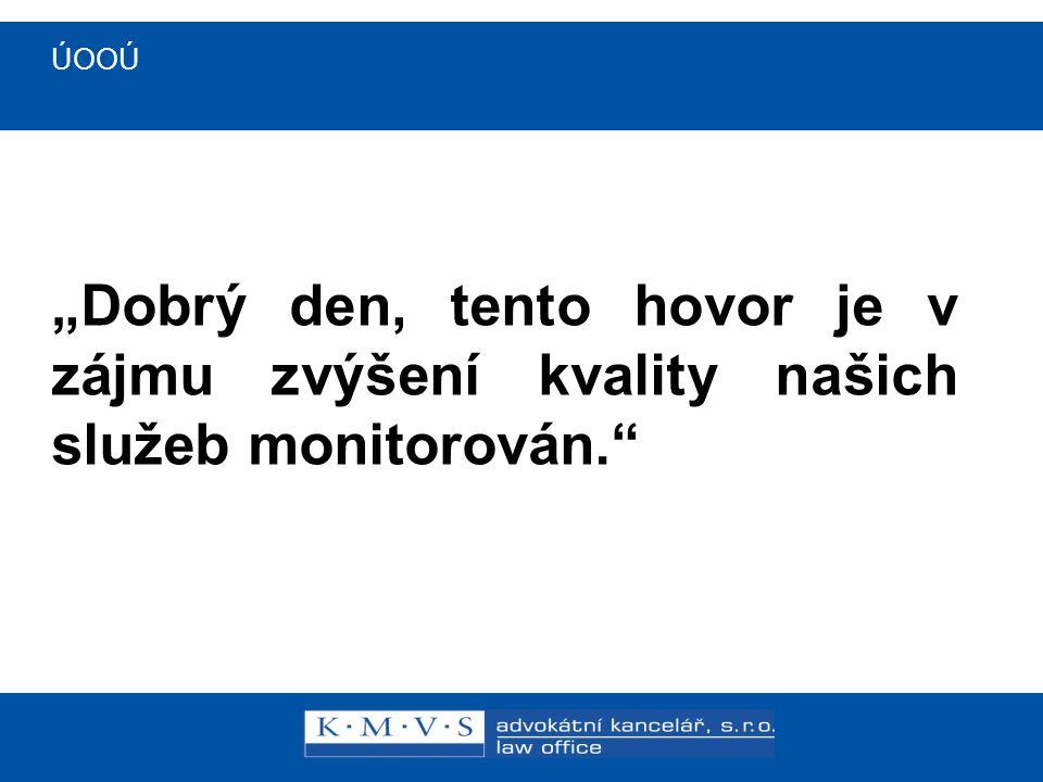 ÚOOÚ Stanovisko ÚOOÚ č.