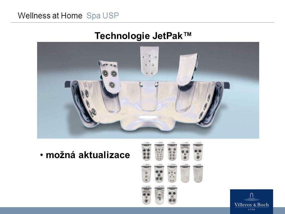 Wellness at Home Spa Standardní vybavení SP-řadaSR-řada/SportX Trysky z nerezové oceliPlastové trysky