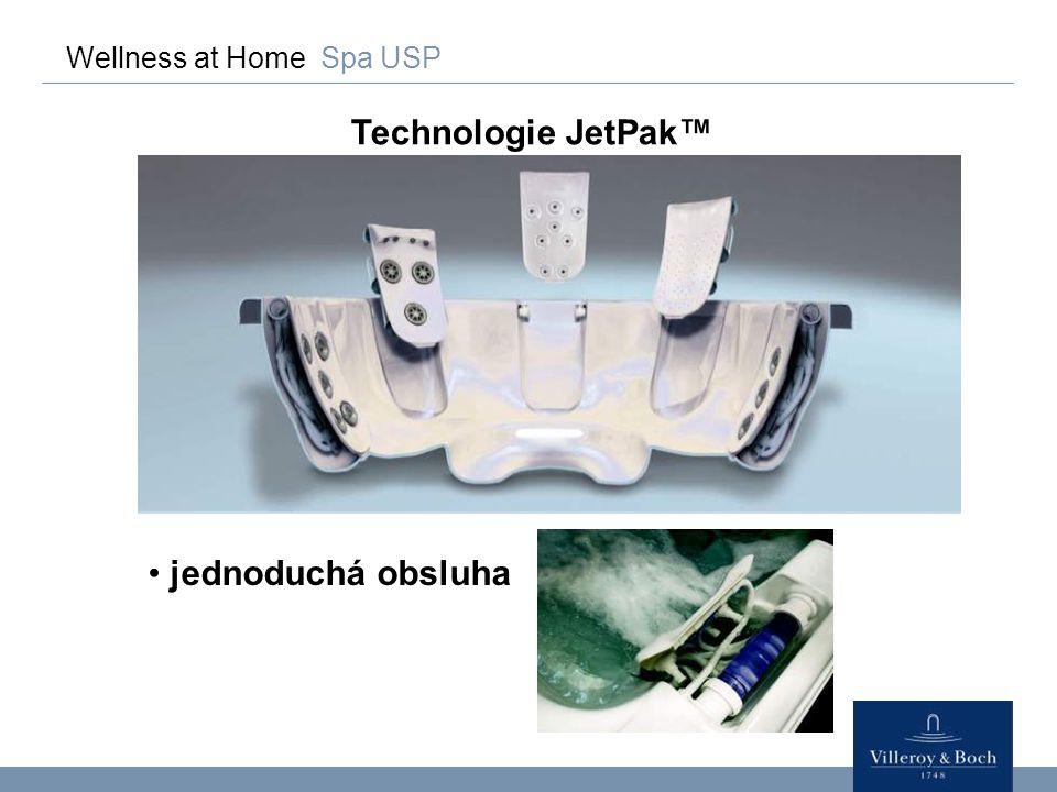 Wellness at Home Spa USP Konvenční technologie