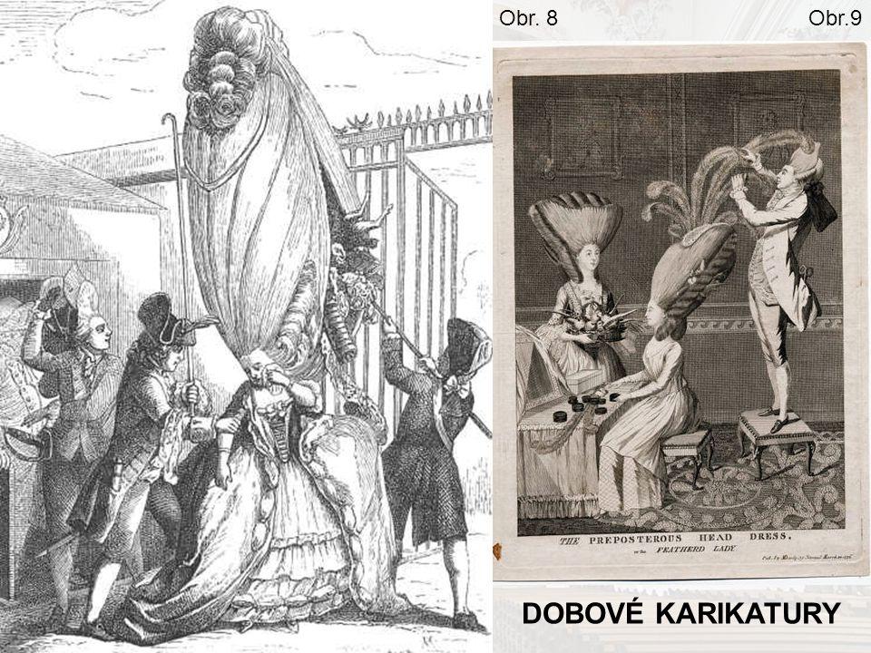 POZDNÍ ROKOKO (1750 – 1789) Účesy byly nižší a širší.