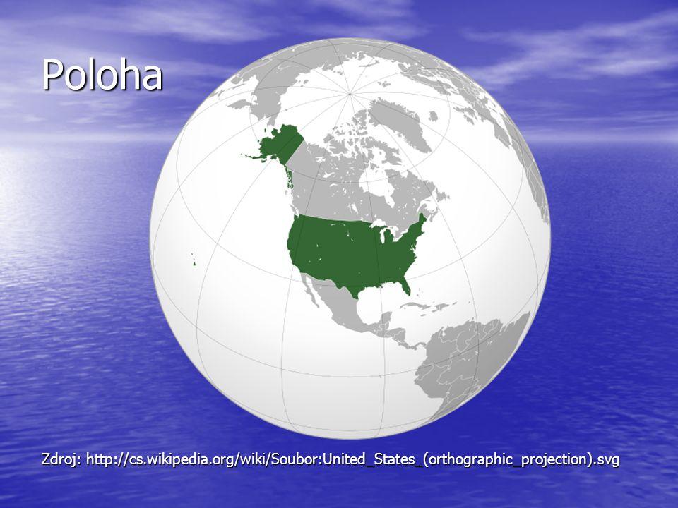 Mapa USA Zdroj: http://emapa.cz/mapa-usa/