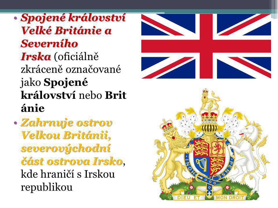 Spojené království Velké Británie a Severního IrskaSpojené království Velké Británie a Severního Irska (oficiálně zkráceně označované jako Spojené krá