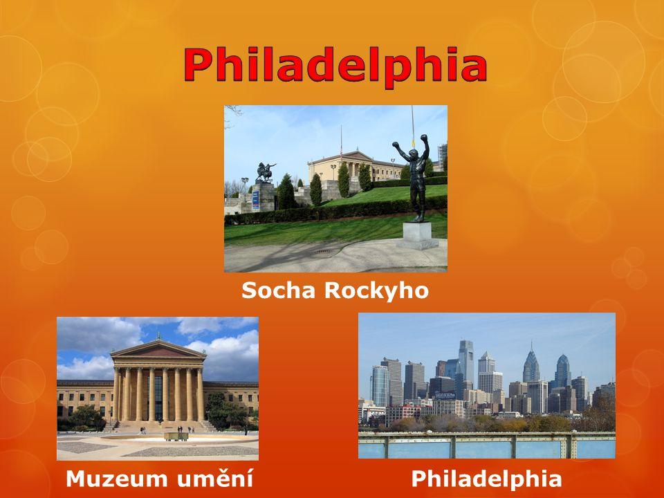 Socha Rockyho PhiladelphiaMuzeum umění
