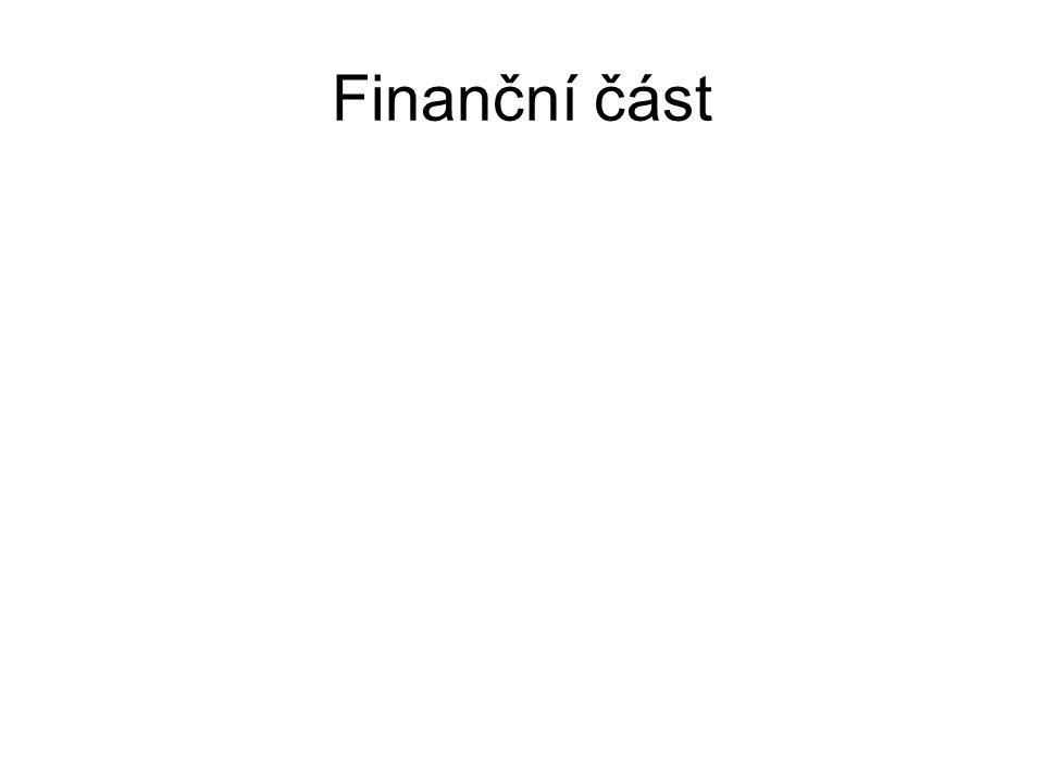 Finanční část