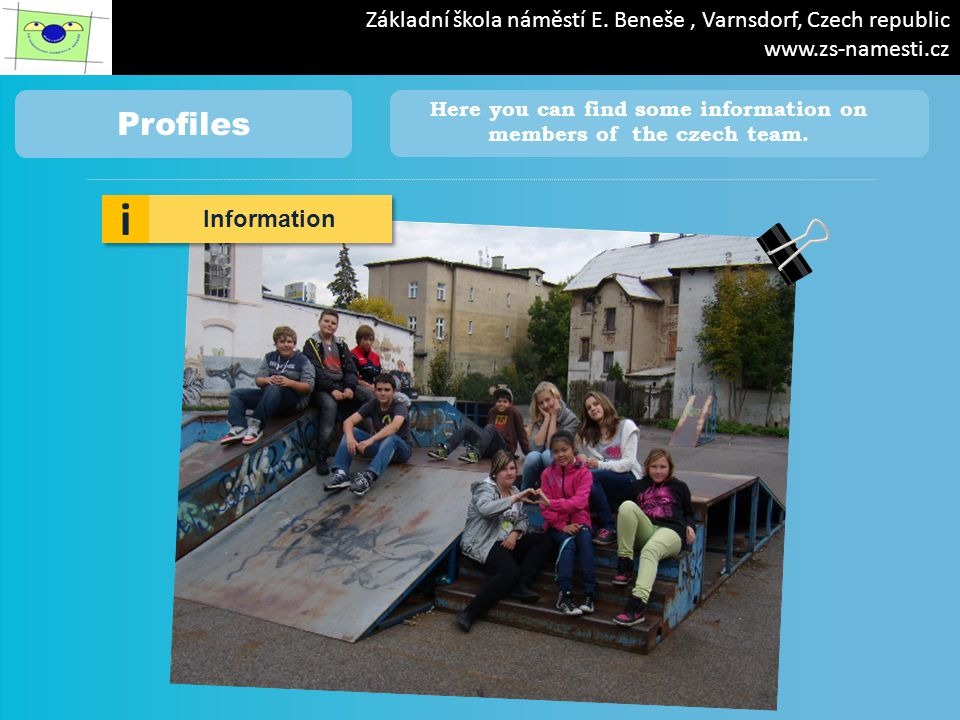 iPad 19.56 88% NAME: Tereza SURNAME: Pípová My message: Hello everyone.