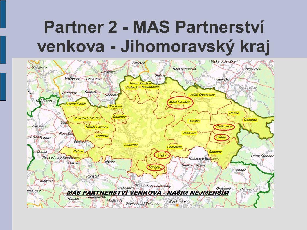 Partner 2 - MAS Partnerství venkova - Jihomoravský kraj
