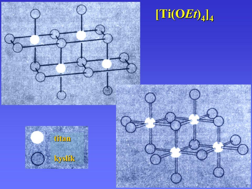 Titanocen titan, zirkonium, hafnium uhlíkkyslík