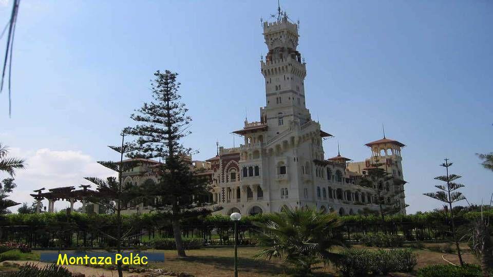 Palác Al montazah luxusní hotel.