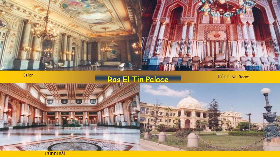 Ras El Tin Palace Zahrada Interiér