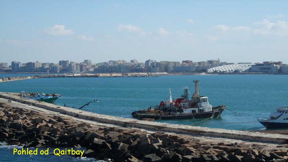 Pohled od Qaitbay