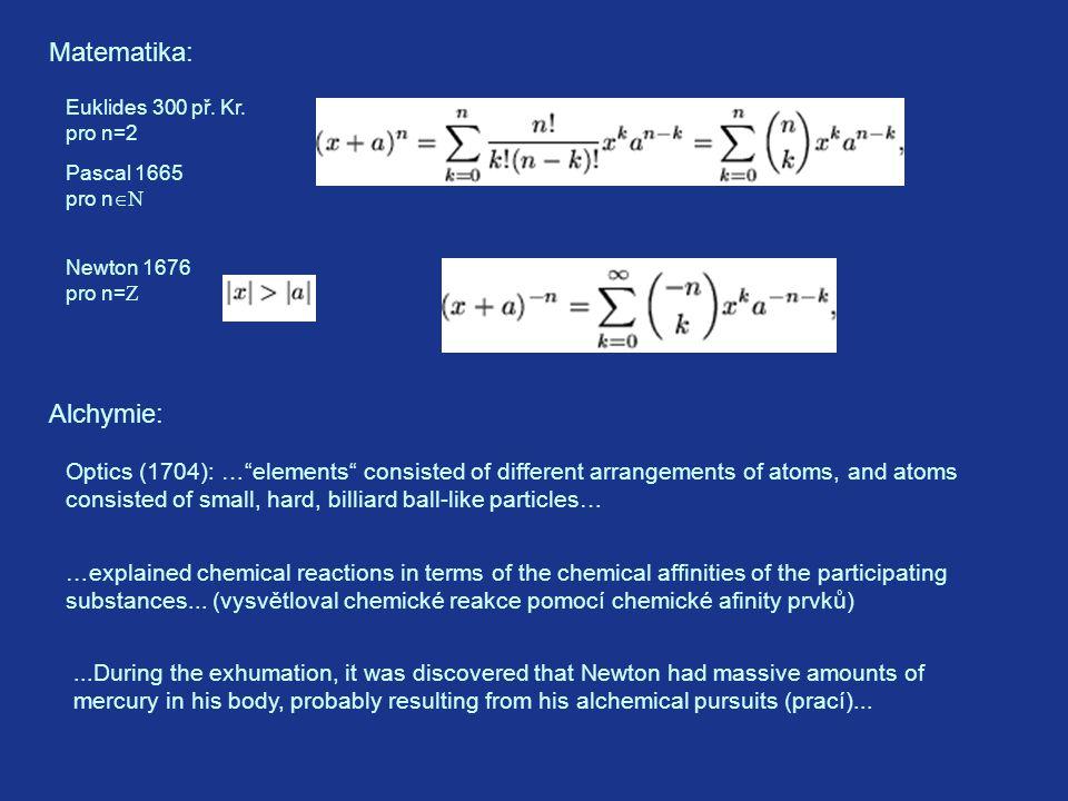 Matematika: Euklides 300 př.Kr.