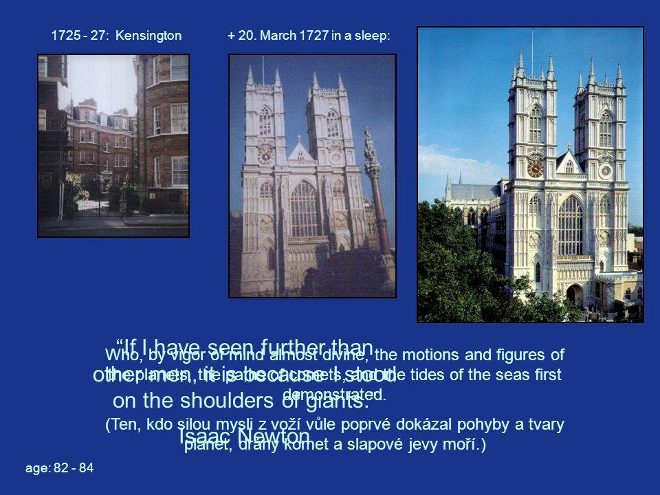 1725 - 27: Kensington+ 20.
