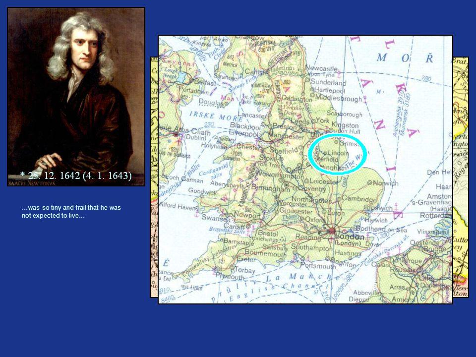 * 25. 12. 1642 - WOOLSTHORPE MANOR