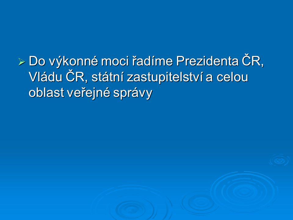 Pravomoci Prezidenta ČR  Samostatné (čl.
