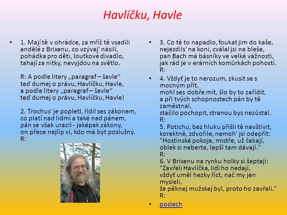 Jaromír Nohavica (7.6.1953 Ostrava) písničkář, textař, libretista, kytarista, skladatel, heligonkář texty pro M.