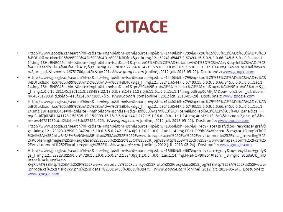 CITACE Http://www.google.cz/search?hl=cs&site=imghp&tbm=isch&source=hp&biw=1440&bih=799&q=kou%C5%99%C3%ADc%C3%AD+v%C3 %BDfuk&oq=kou%C5%99%C3%ADc%C3%AD
