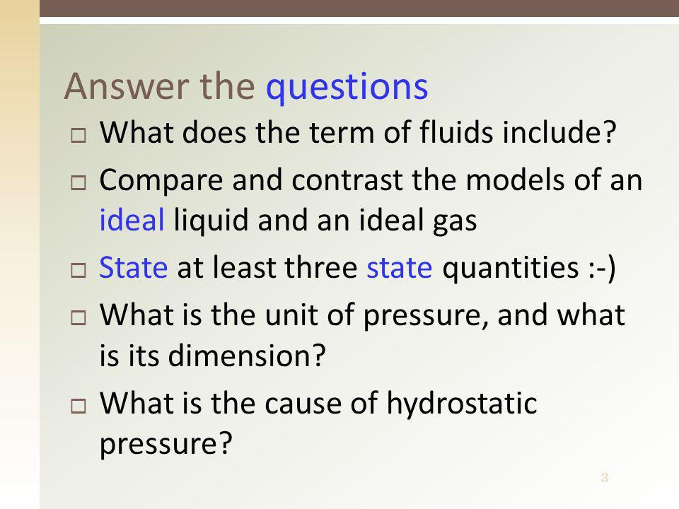 4 Mechanics of fluids