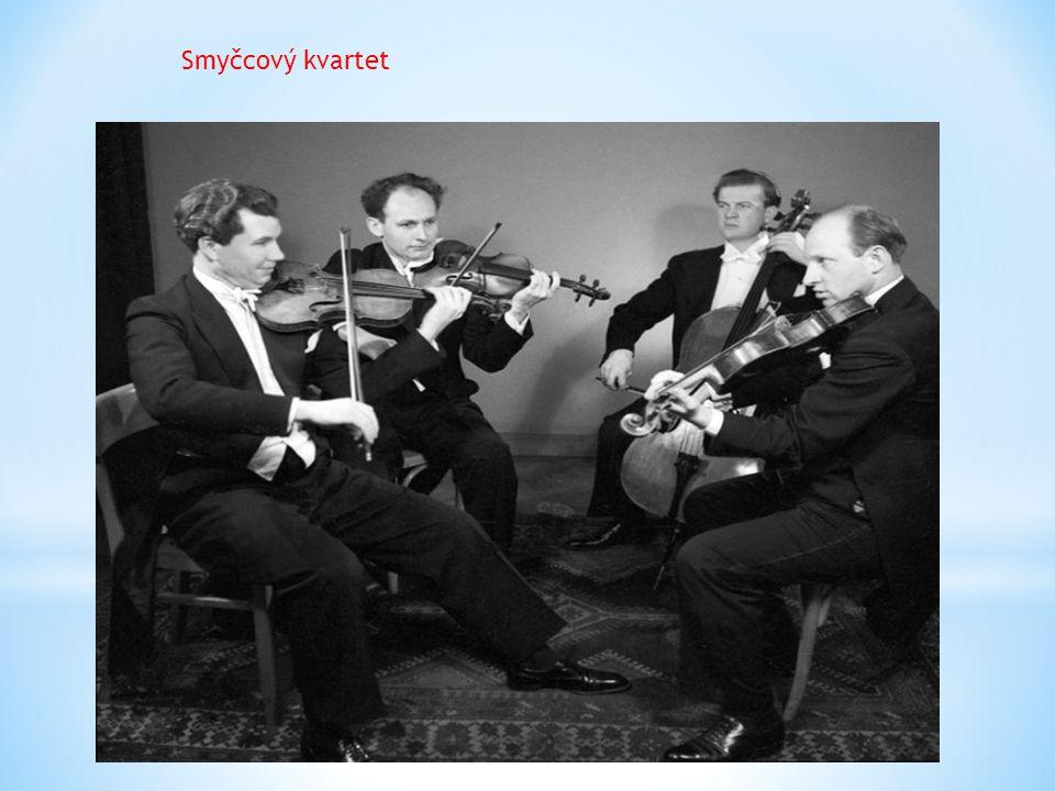 Kvinteto Patří sem soubory složené z pěti hráčů: klavírní kvinteto – více možností: klavír, 2 housle, viola a violoncello klavír, hoboj, klarinet, fagot a lesní roh smyčcové kvinteto – 2 housle, 2 violy a violoncello dechové kvinteto – flétna, hoboj, lesní roh, klarinet a fagot