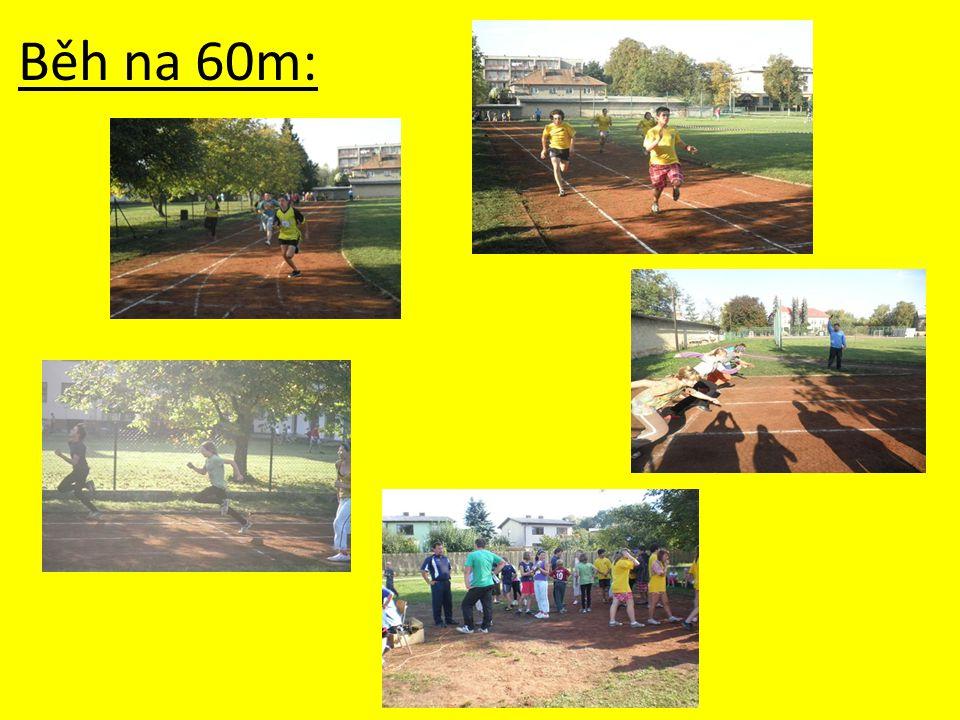 Běh na 60m: