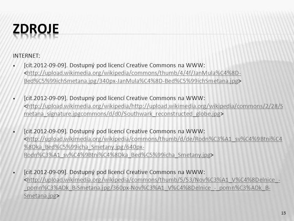 INTERNET: [cit.2012-09-09]. Dostupný pod licencí Creative Commons na WWW: http://upload.wikimedia.org/wikipedia/commons/thumb/4/4f/JanMula%C4%8D- Bed%