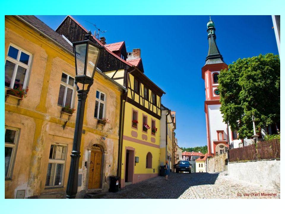 Středověké město Loket.