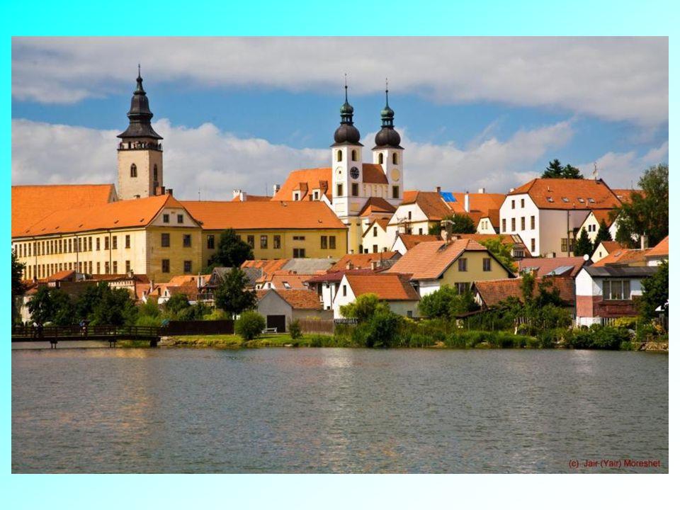 Středověké město Telč.