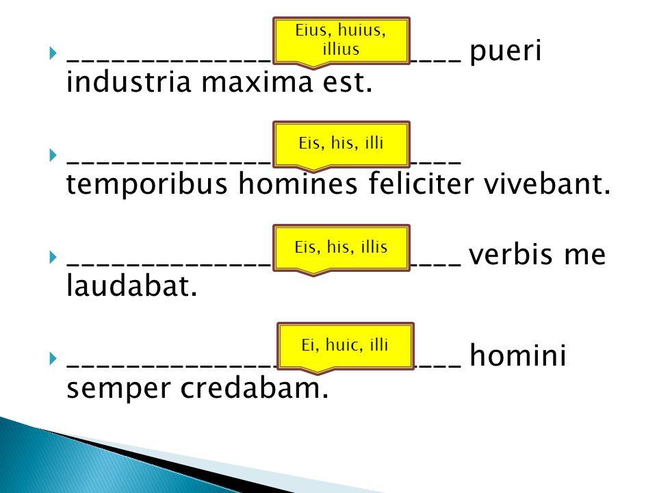  ___________________________ pueri industria maxima est.