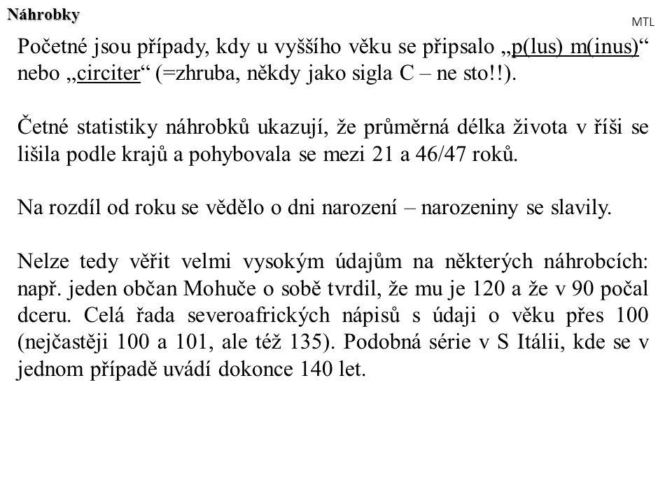 Municipální úředníci Města – 2 rozdílné právní statuty: coloniae a municipia Colonia – autonomní společenství římských nebo latinských občanů – coloniae civium Romanorum.