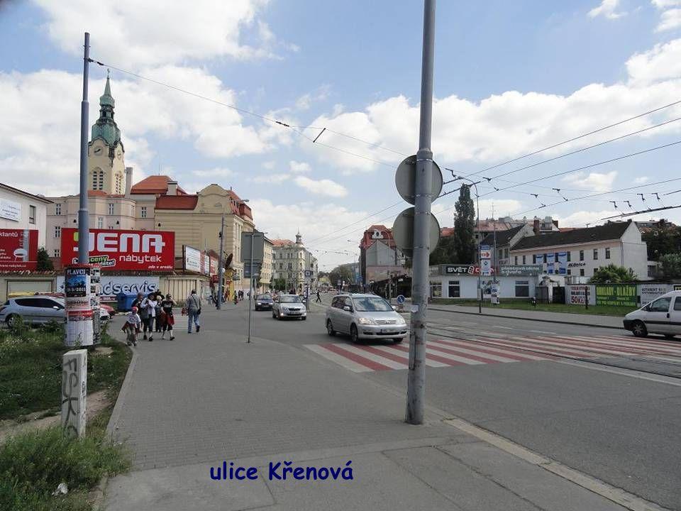 pohled do Masarykovy ulice od Hlavního nádraží
