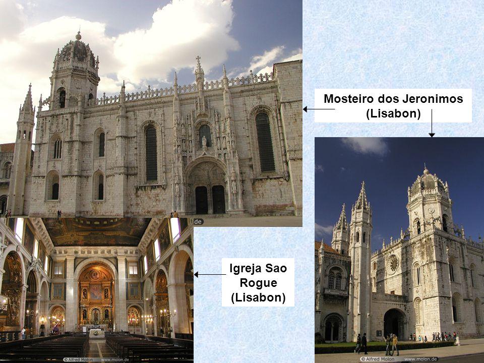 Mosteiro dos Jeronimos (Lisabon) Igreja Sao Rogue (Lisabon)