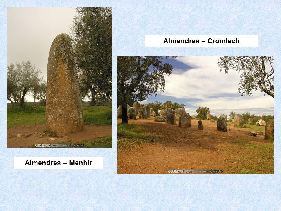 Almendres – Menhir Almendres – Cromlech