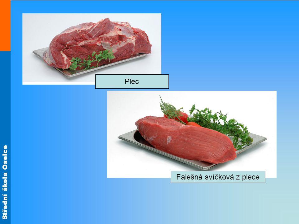 Střední škola Oselce Vyber na obrázku vhodné maso na dušení