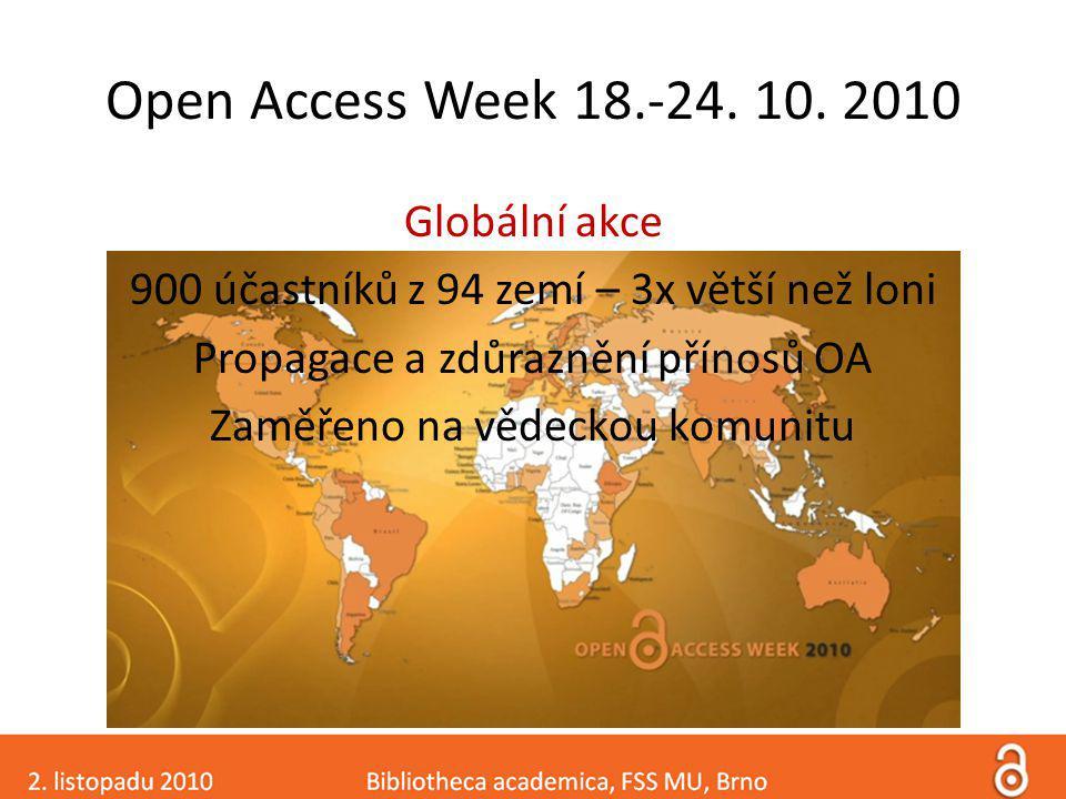 Děkujeme za pozornost. Další informace: http://www.openaccess.cz http://e-zdroje.vsb.cz