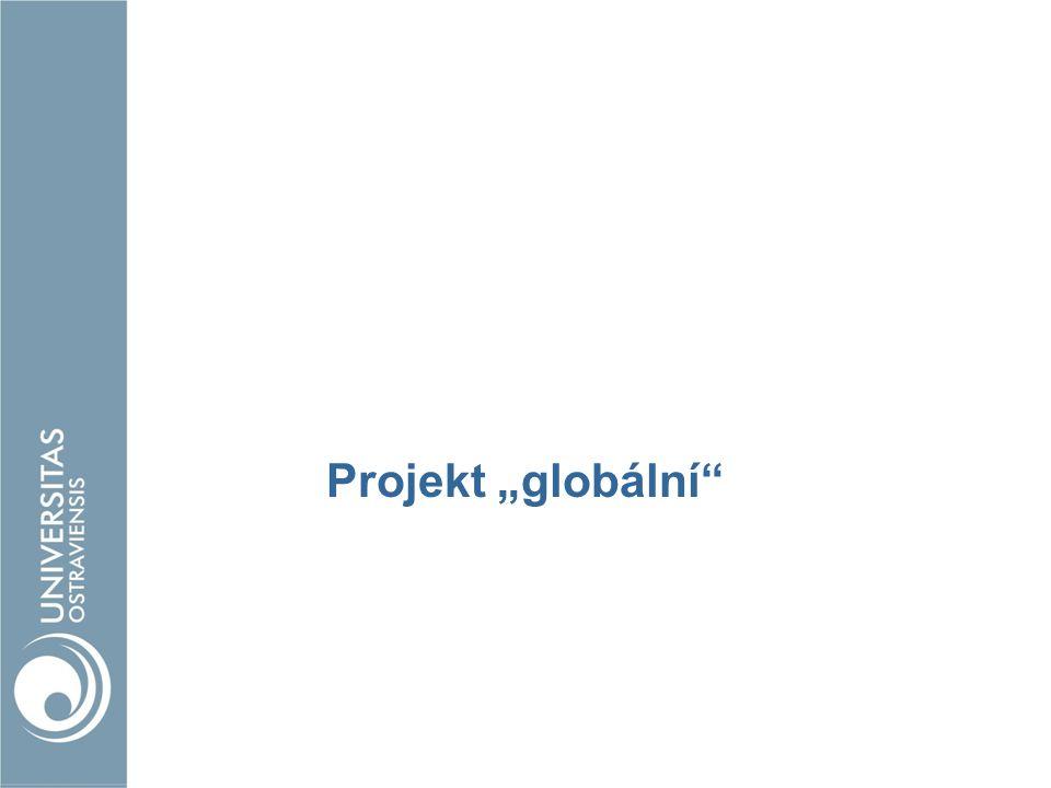 """Projekt """"globální"""""""