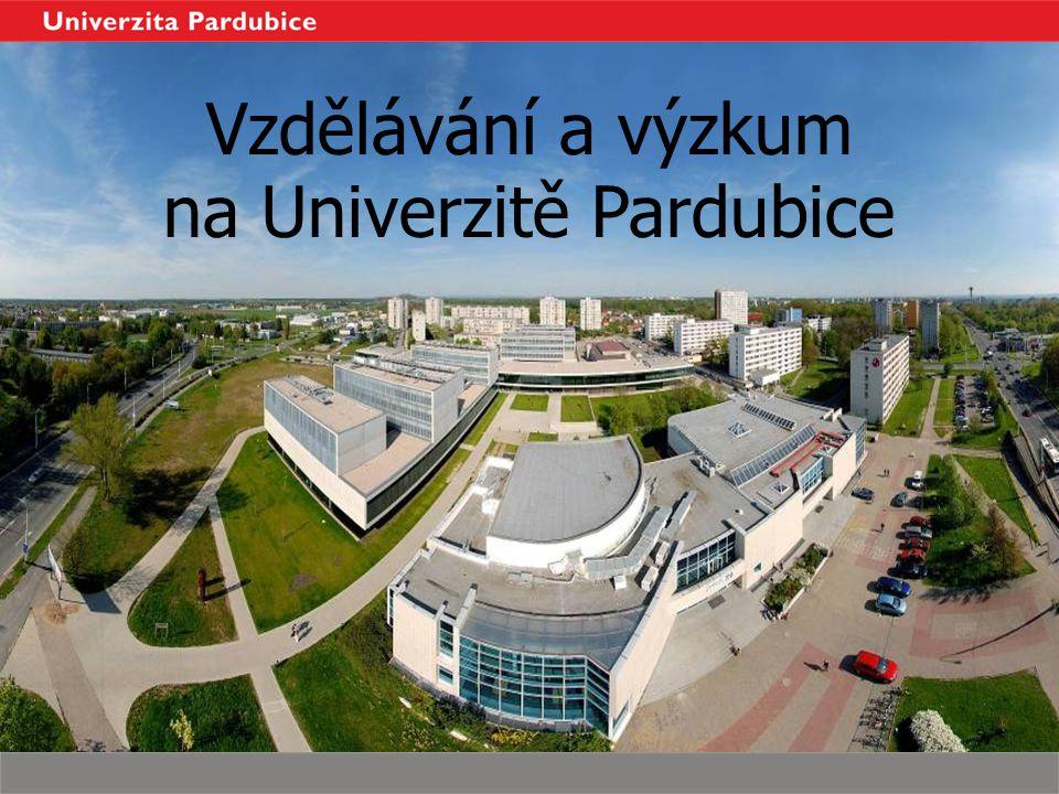 Vzdělávání a výzkum na Univerzitě Pardubice