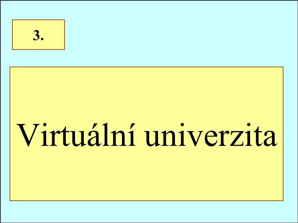 Virtuální univerzita 3.