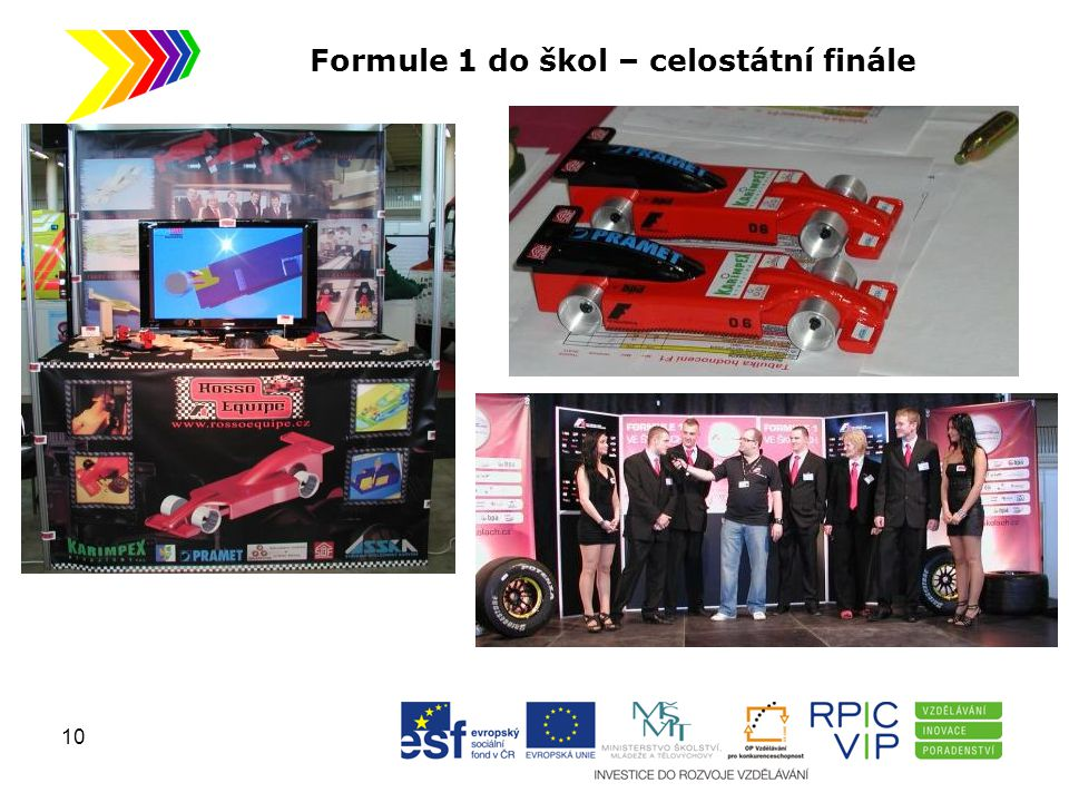 Formule 1 do škol – celostátní finále 10