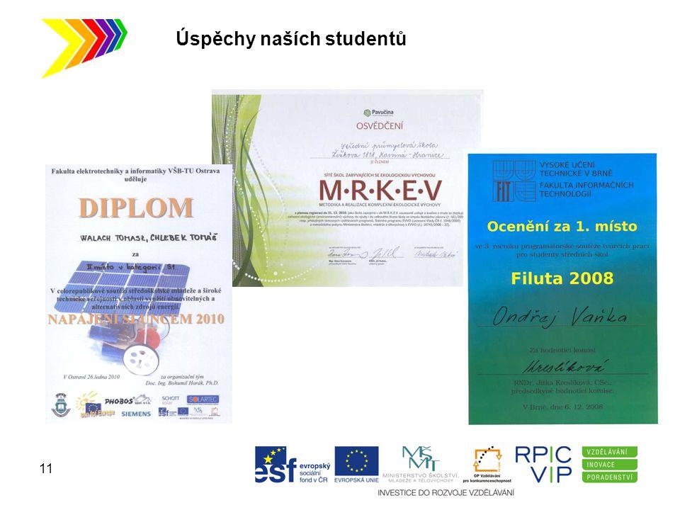 Úspěchy naších studentů 11