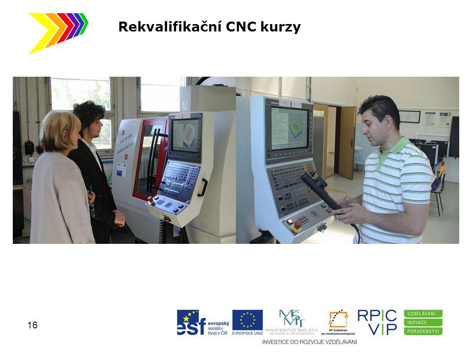 Rekvalifikační CNC kurzy 16
