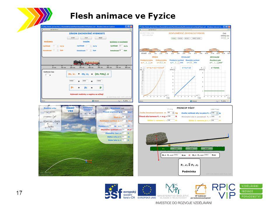 Flesh animace ve Fyzice 17