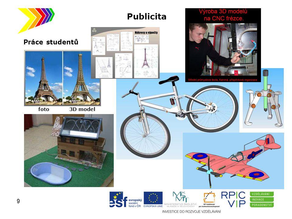 Publicita Práce studentů foto 3D model 9
