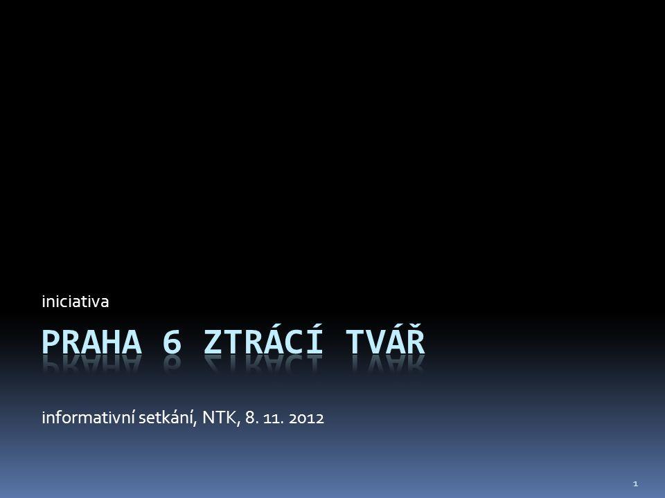 iniciativa informativní setkání, NTK, 8. 11. 2012 1