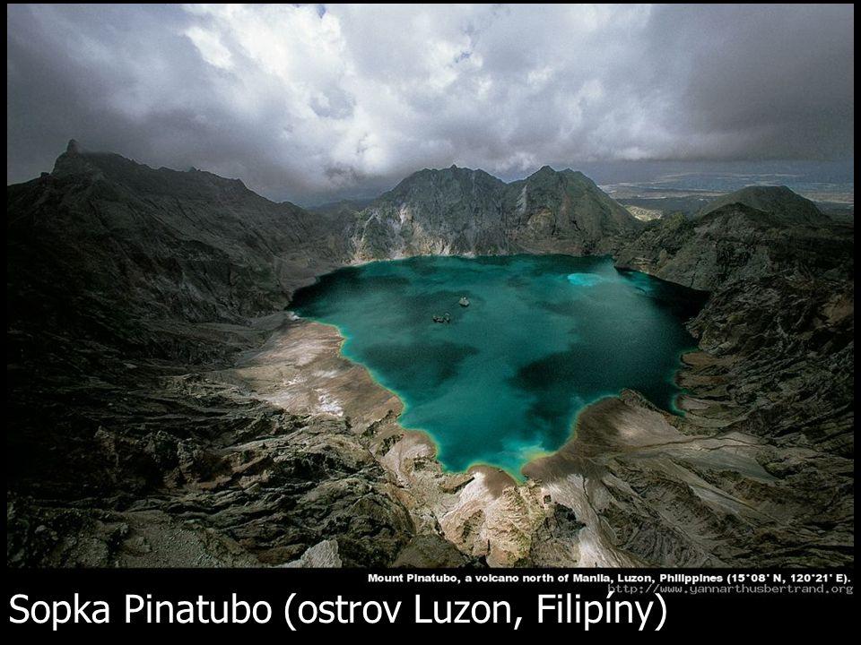 Sopka Pinatubo (ostrov Luzon, Filipíny)