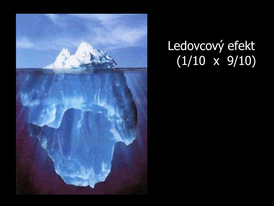 Ledovcový efekt (1/10 x 9/10)