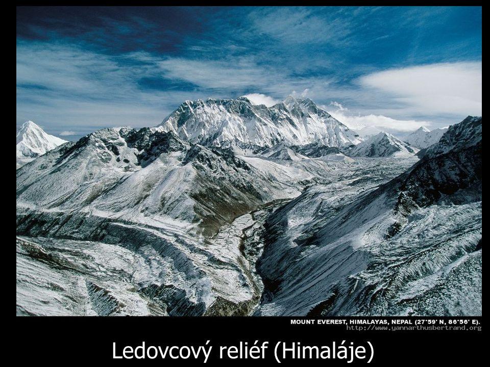Ledovcový reliéf (Himaláje)