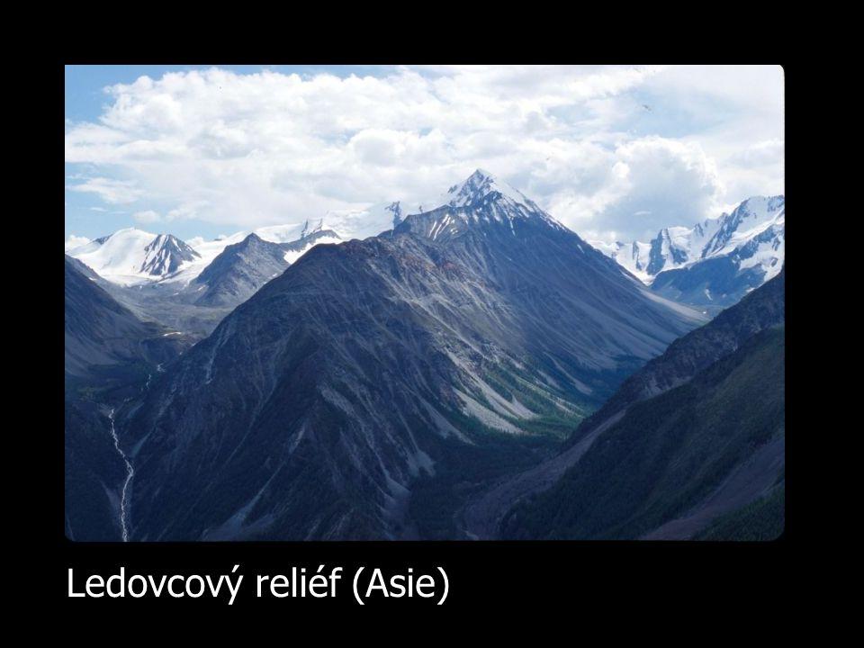 Ledovcový reliéf (Asie)