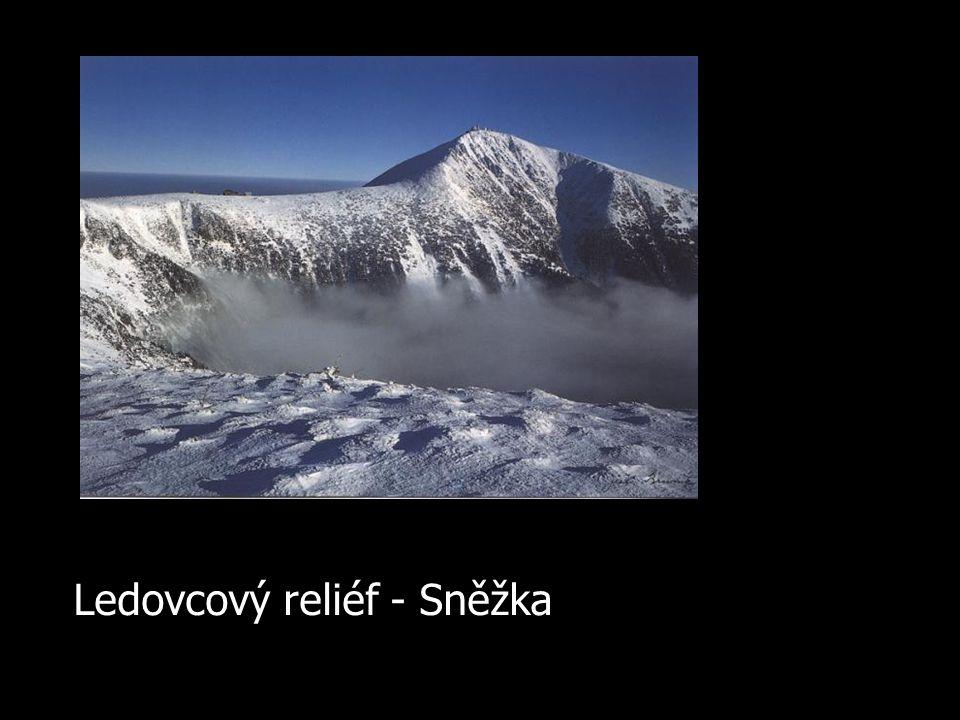 Ledovcový reliéf - Sněžka