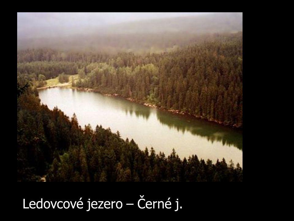Ledovcové jezero – Černé j.