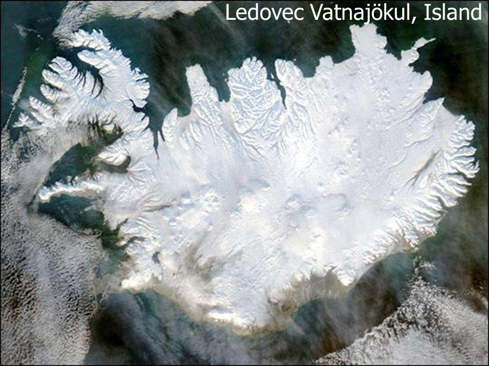 Ledovec Vatnajökul, Island